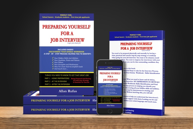 Preparing Yourself For A Job Interview Book and Ebook by Allan Rufus