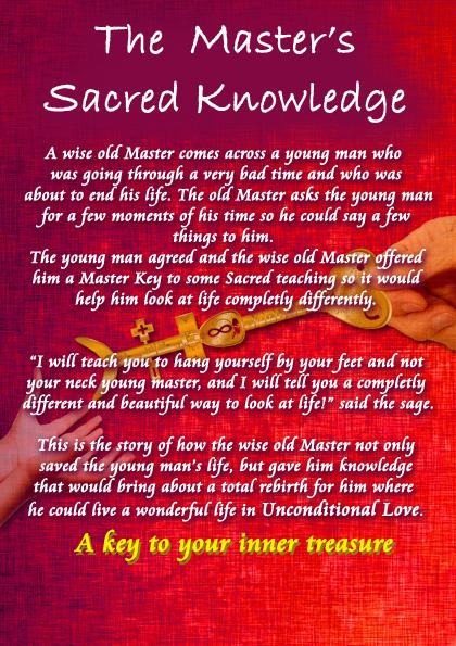 Sacred Master Key Book