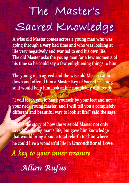 Book Back Cover - The Master's Sacred Knowledge