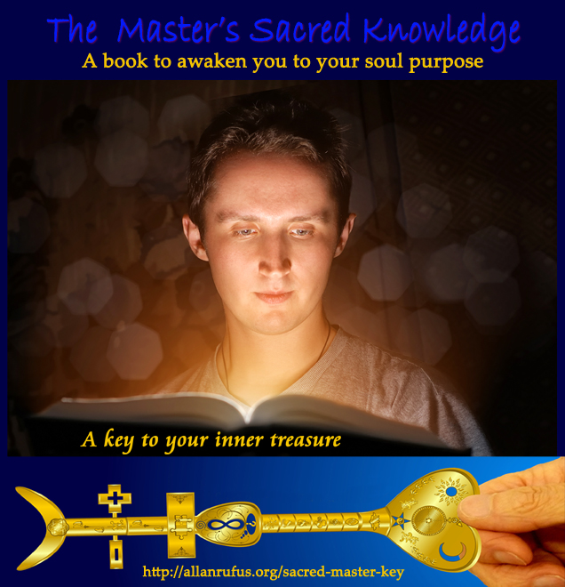 Soul purpose and Man reading book to find out his soul purpose