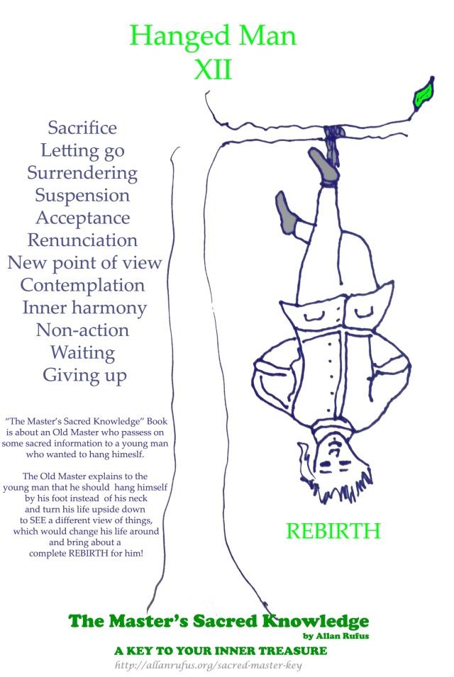 Tarot Card - The Hanged Man