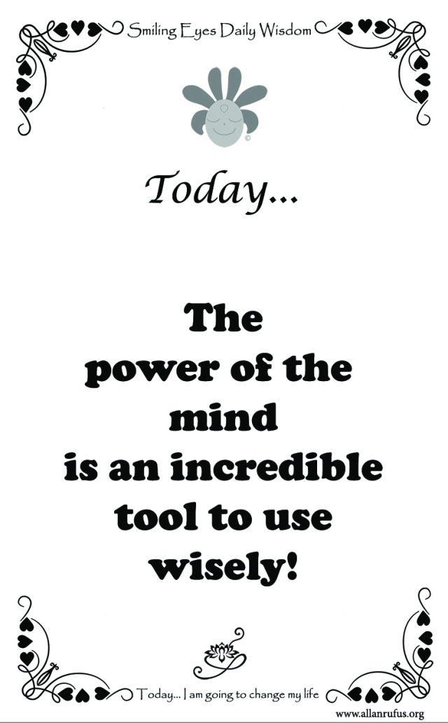 Power of the mind!