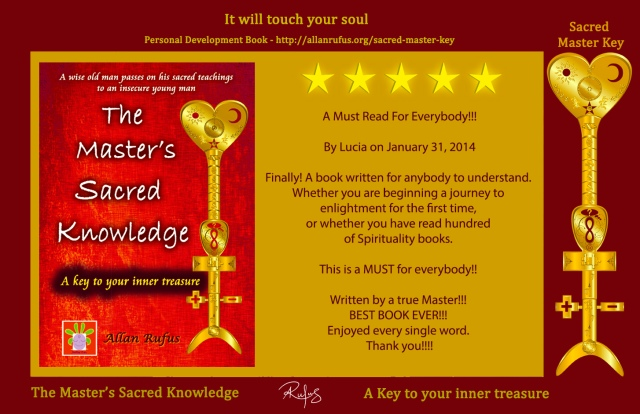The Master's Sacred Knowledge - 5 star book review!