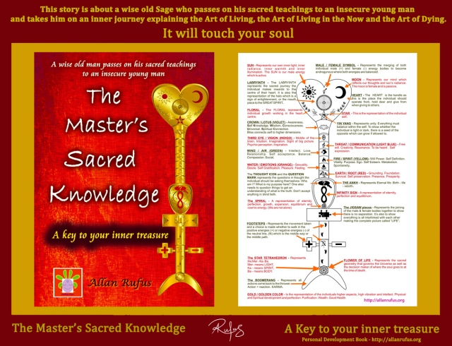 The Master's Sacred Knowledge with Key symbols and meanings
