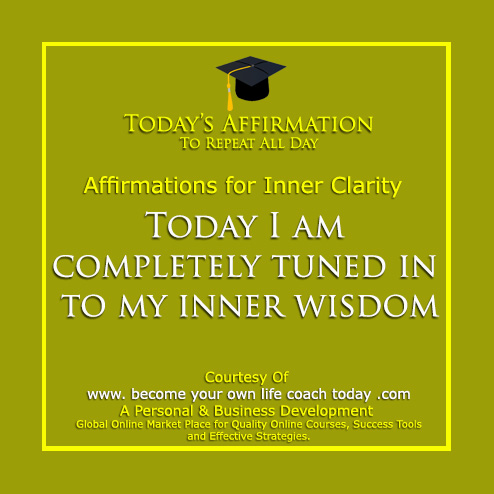 Inner Clarity tuned into own wisdom - Copy