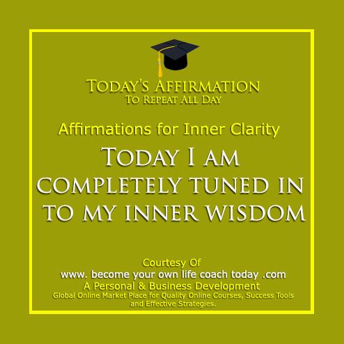 Inner Clarity tuned into own wisdom - Copy